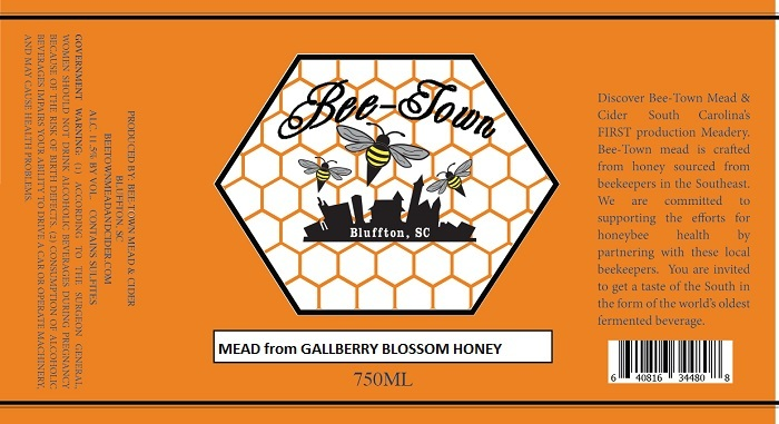2018 Traditional Gallberry Blossom Honey Mead