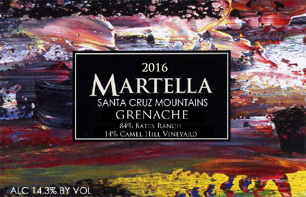 2016 Santa Cruz Mountains Grenache