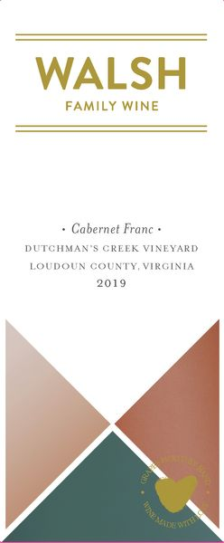 2019 Walsh Family Wine Dutchman's Creek Cabernet Franc