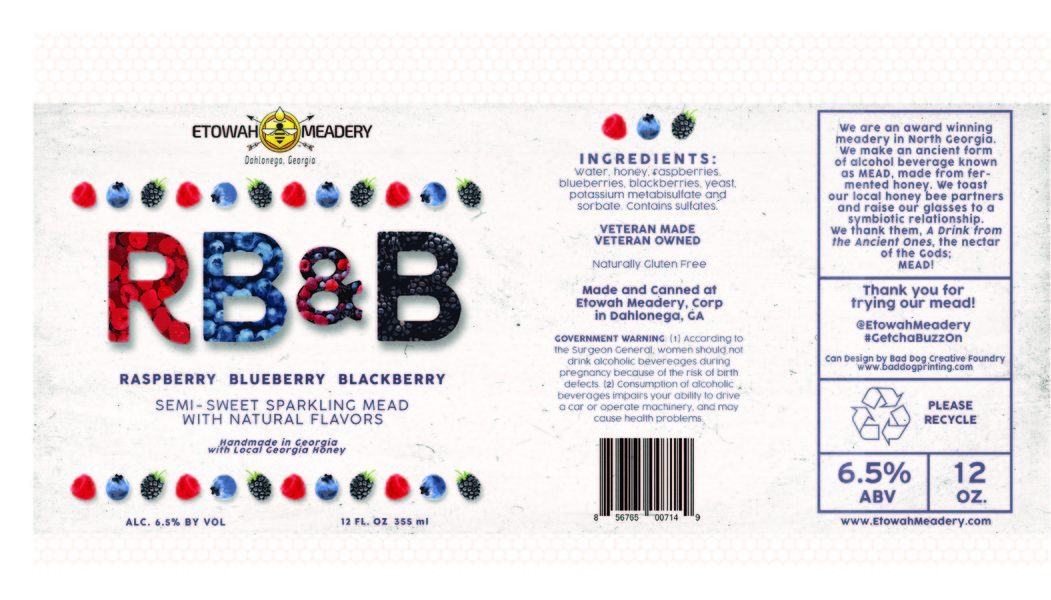 Product Image for 2019 Raspberry, Blueberry, Blackberry Mead