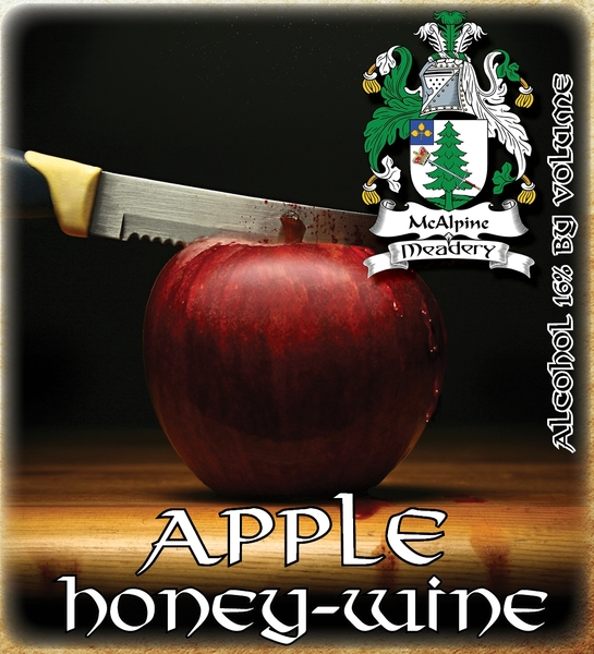 2018 Apple Honey-Wine