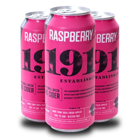 Product Image for 2019 Raspberry Hard Cider - 12 x 16oz Cans