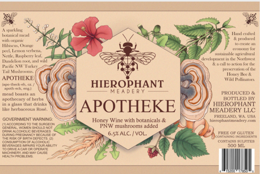 Product Image for Apotheke Session Mead 500ML