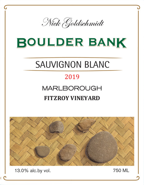 "Product Image for 2019 Boulder Bank ""Fitzroy"" Sauvignon Blanc"
