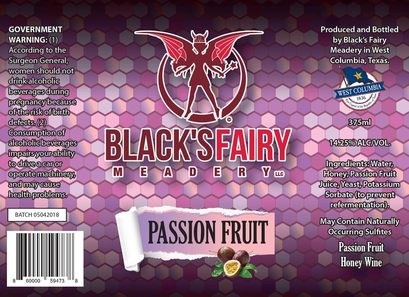 Product Image for 2018 Passion Fruit