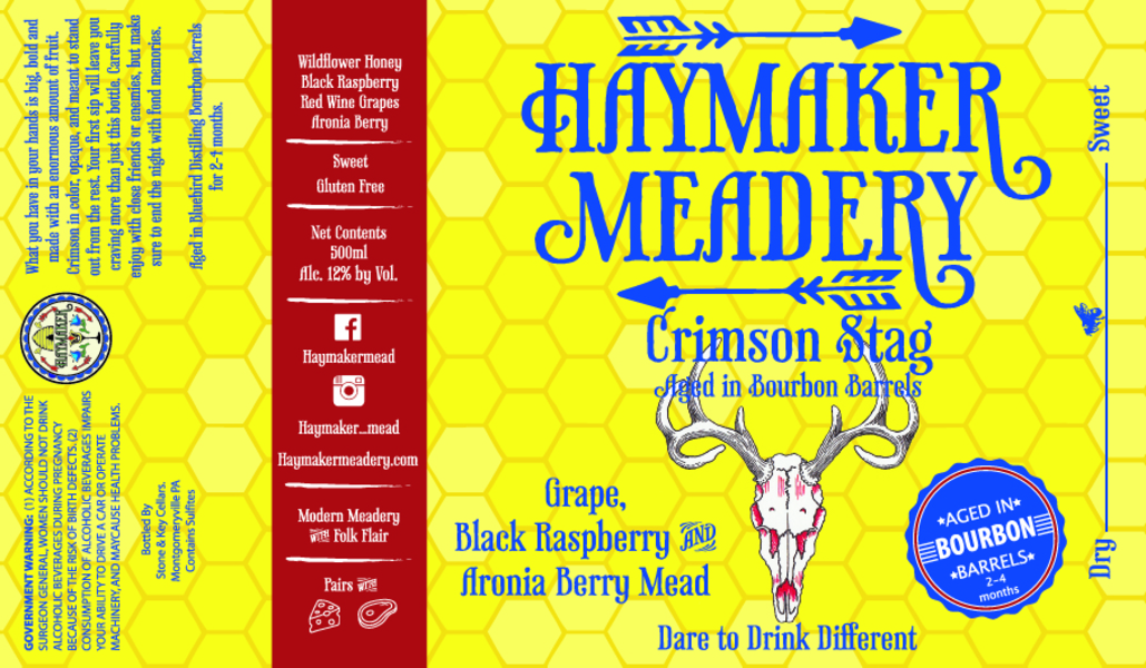 Crimson Stag Bourbon Barrel