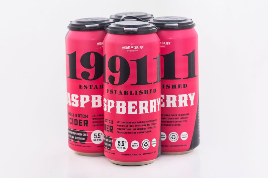 2020 Raspberry Hard Cider - 12 x 16oz Cans
