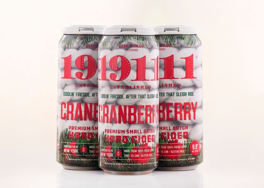 2020 Cranberry Hard Cider - 12 x 16oz Cans