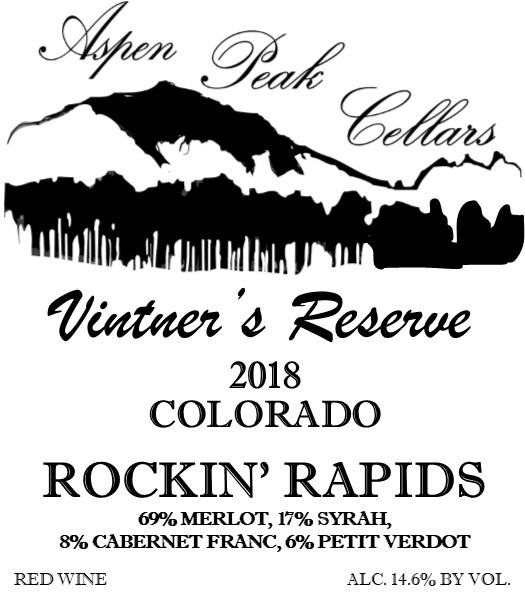 Product Image for 2018 Rockin' Rapids Vintners Reserve