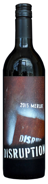 2015 Disruption Merlot - Save 33% on 12 bottles or more!