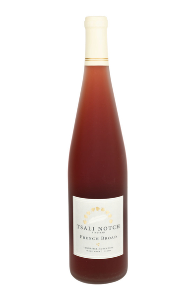 French Broad ~ Muscadine Rosé Wine