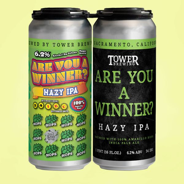 2020 Are You A Winner? - Hazy IPA 4 Pack