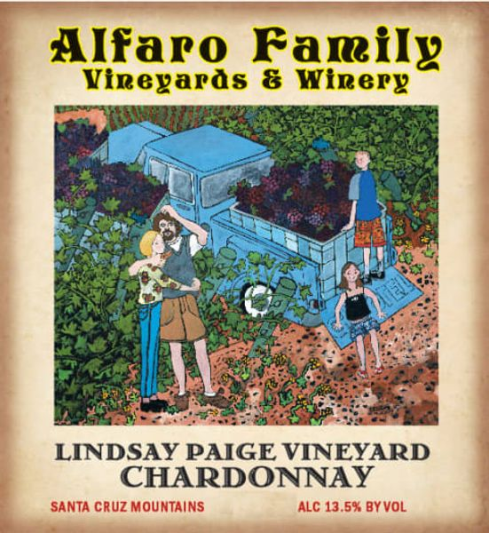 2018 Alfaro Family Vineyards Lindsay Paige Vineyard Estate Chardonnay