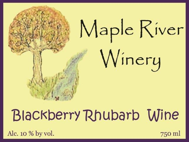 Product Image for Blackberry Rhubarb Wine
