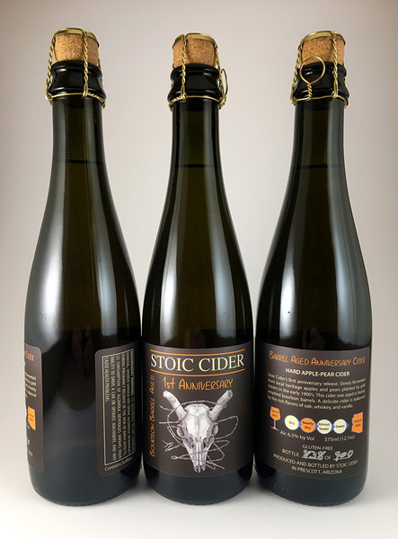 Product Image for 2017 Barrel Aged 1st Anniversary Cider