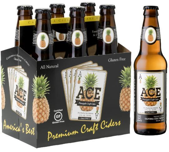 Product Image for ACE Pineapple Craft Cider