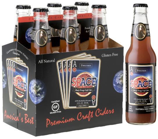 Product Image for ACE SpACE Bloody Orange Craft Cider