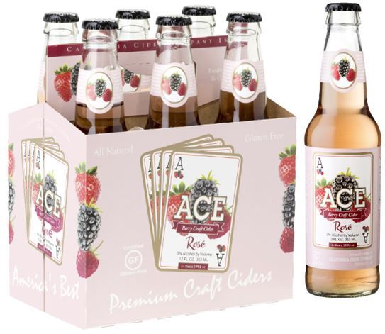 ACE Berry Rosé Craft Cider