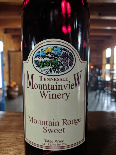 2016 Mountain Rouge (sweet)