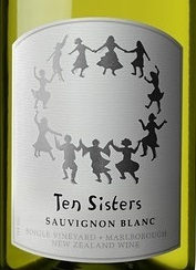 2019 Ten Sisters Single-Vineyard Marlborough Sauvignon Blanc
