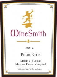 Product Image for 2014 Pinot Gris (Arroyo Seco)