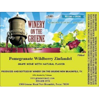 2020 Pomegranate Wildberry Zinfandel