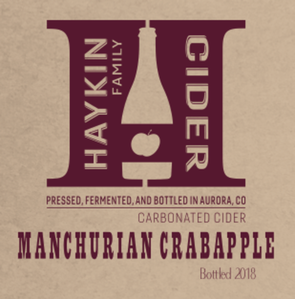 Product Image for 2018 Manchurian Crabapple - 750ml