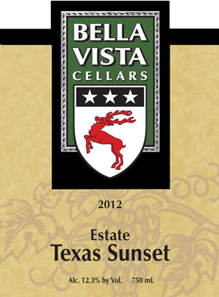 Product Image for 2012 Estate Texas Sunset