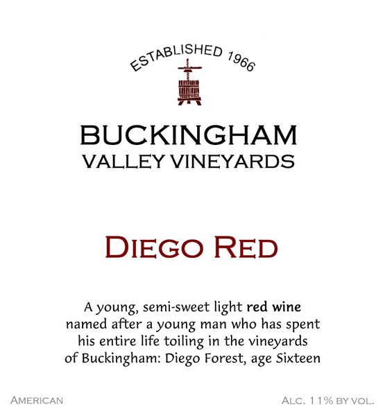 2018 Diego Red