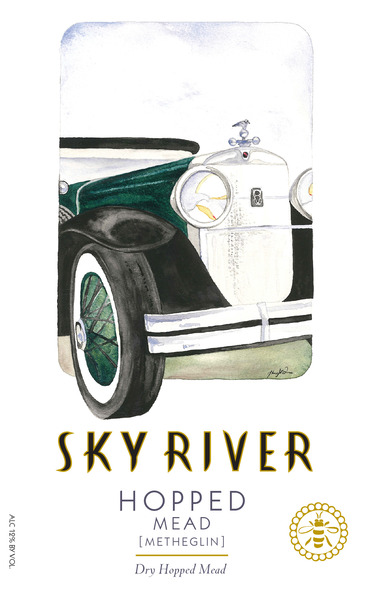 Sky River Dry Hopped Honey Wine