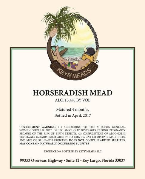 Product Image for 2018 Horseradish Mead
