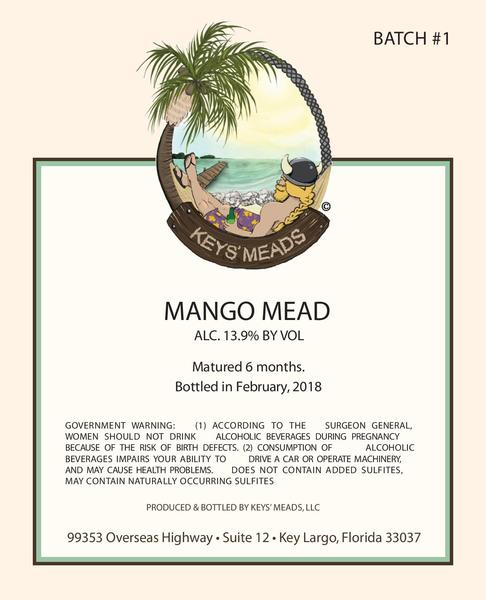 Product Image for 2018 Mango Mead