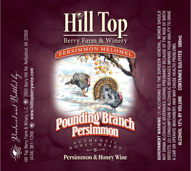 Product Image for Pounding Branch Persimmon Mead