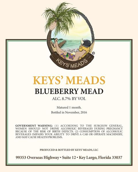 Product Image for 2018 Blueberry Mead