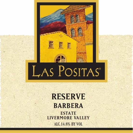 2016 Estate Reserve Barbera