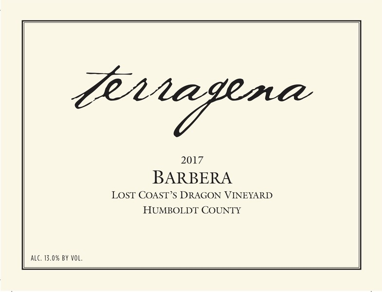 2017 Lost Coast's Dragon Vineyard Barbera