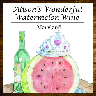 2016 Alison's Wonderful Watermelon Wine