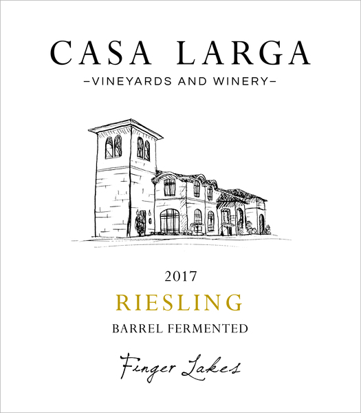 2017 Riesling - Barrel Fermented