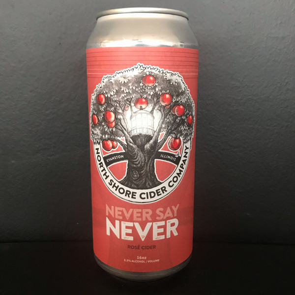 Product Image for Never Say Never Rosé Cider