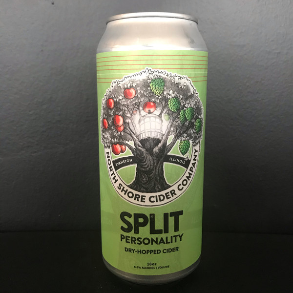 Split Personality Dry Hopped Cider