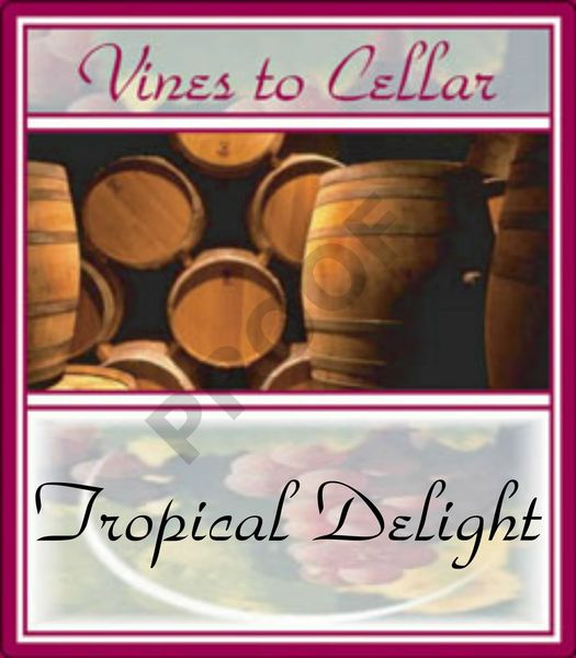 2020 Tropical Delight (Pineapple Pear Pinot Grigio)