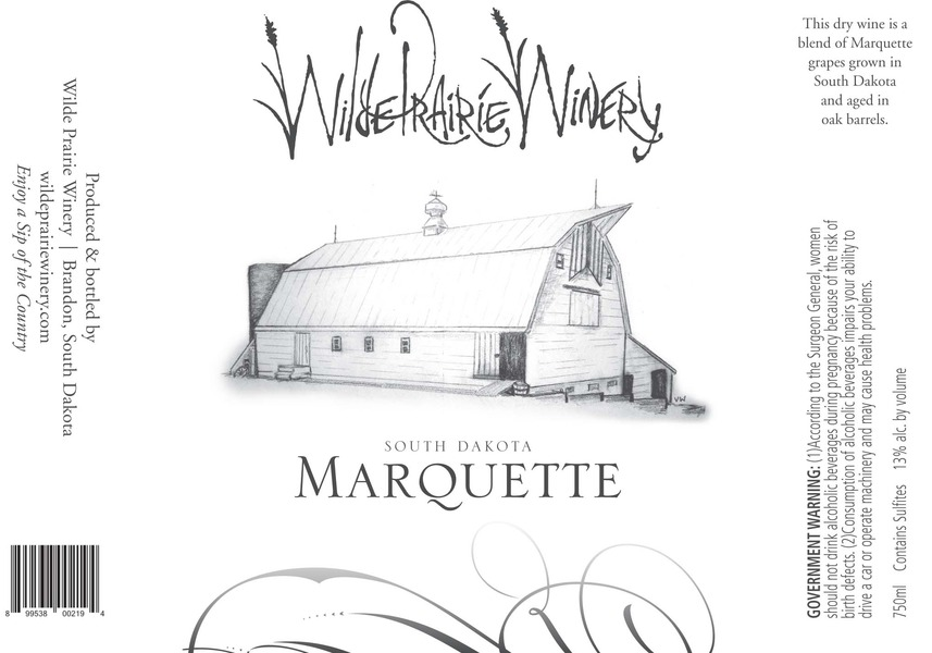 Product Image for Marquette Wine