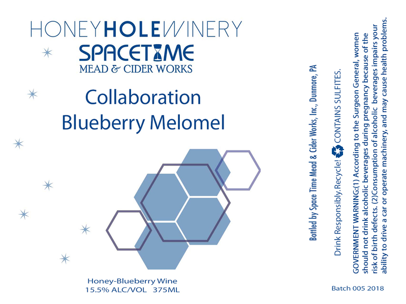 2018 Collaboration Blueberry Melomel