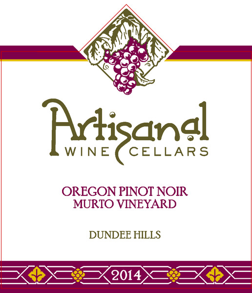 2014 Murto Vineyard Pinot Noir