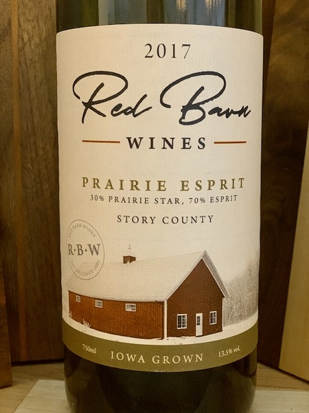 2017 Prairie Esprit -- Red Barn Wines