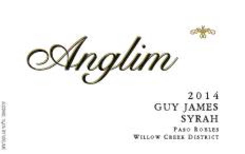 2014 Syrah Guy James, Paso Robles Willow Creek District