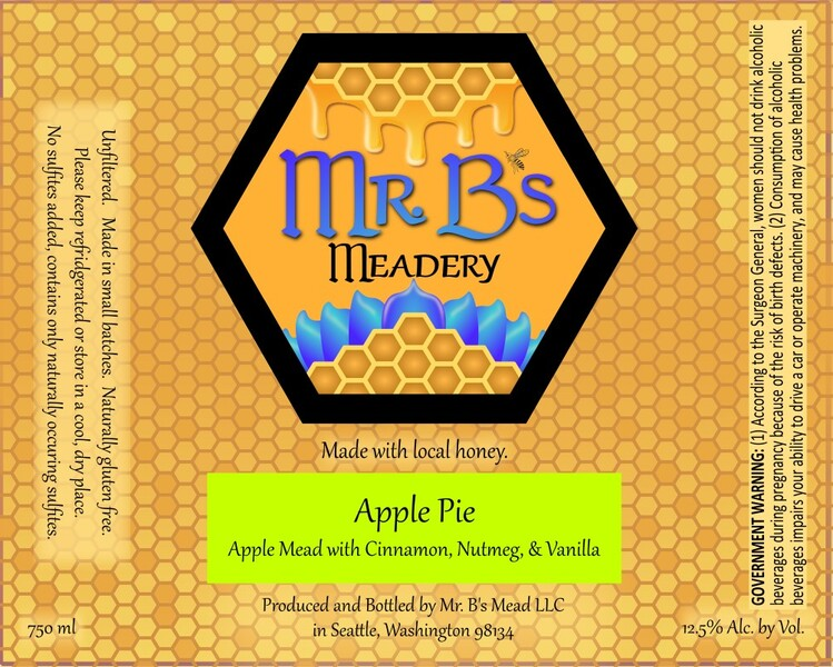 2020 Apple Pie - Semi-Dry Mead