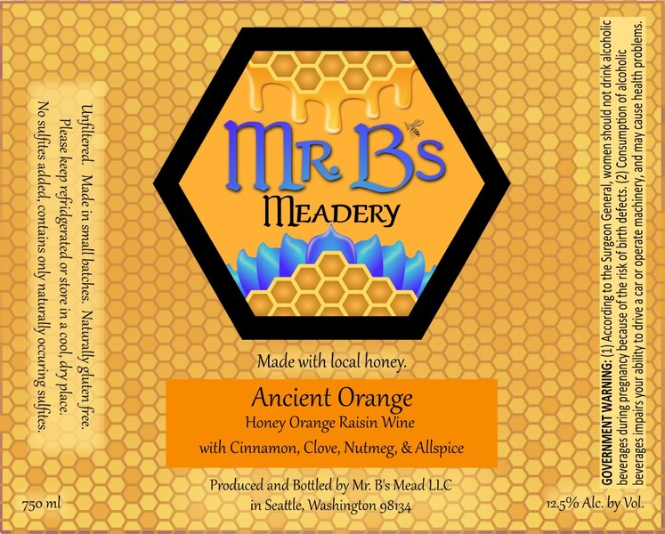 2020 Ancient Orange Mead Lightly Sweet