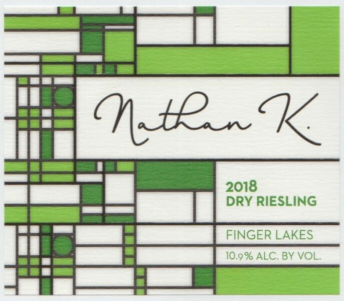 2018 Nathan K  Dry Riesling