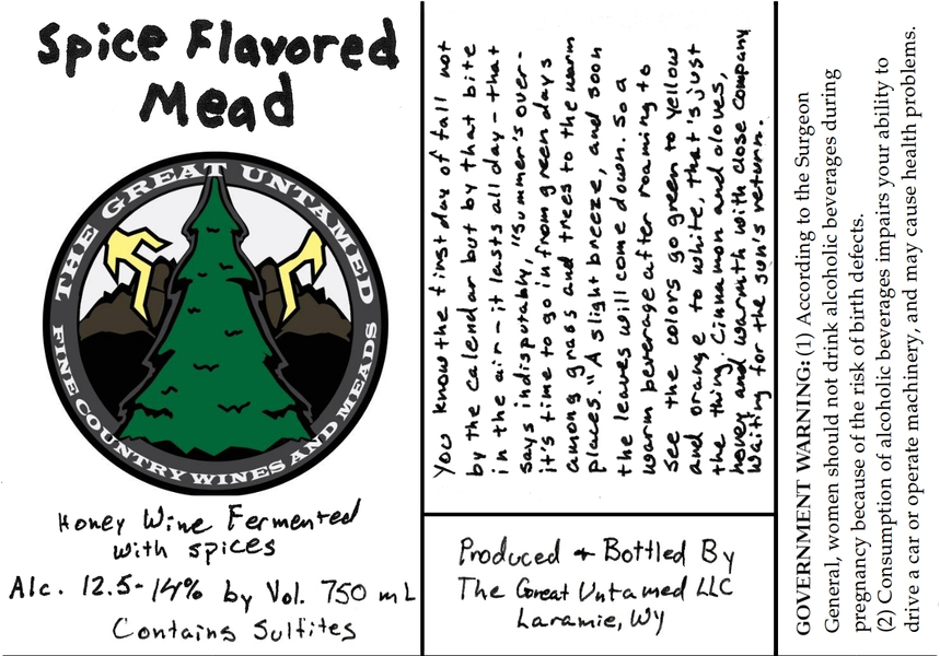 2018 Spiced Mead